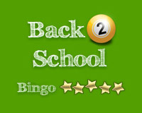 Back2School Bingo
