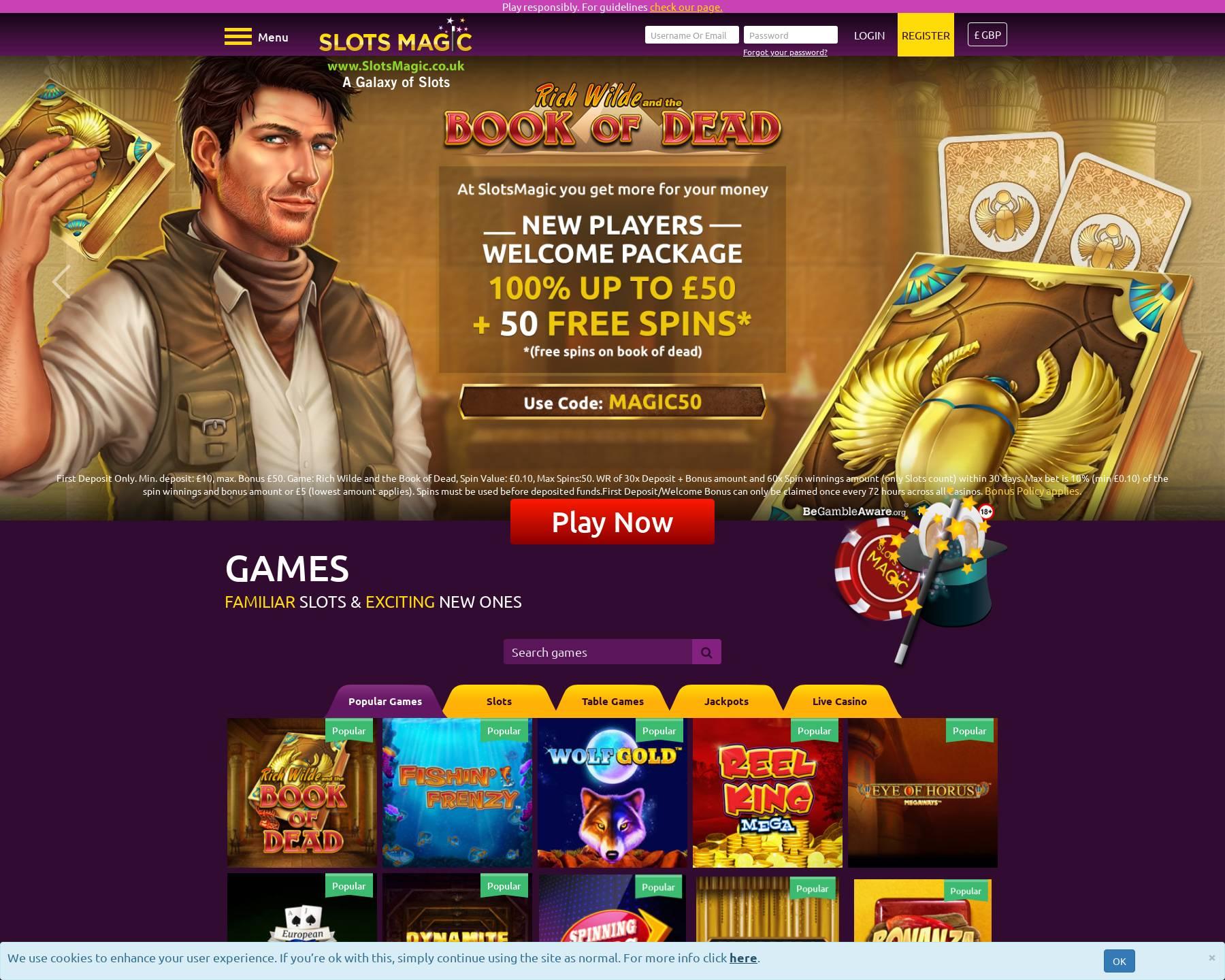 Slots magic bonus code ludwig wittgenstein poker