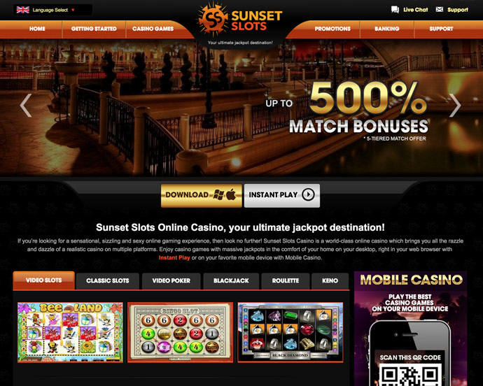 Sunset Slots Mobile