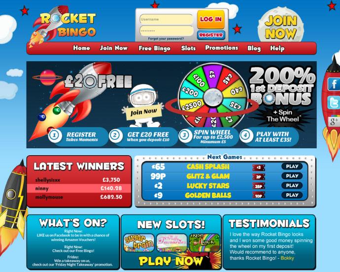 Rocket Bingo