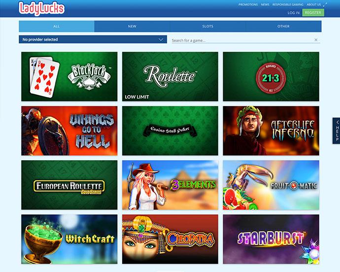 Ladylucks casino login