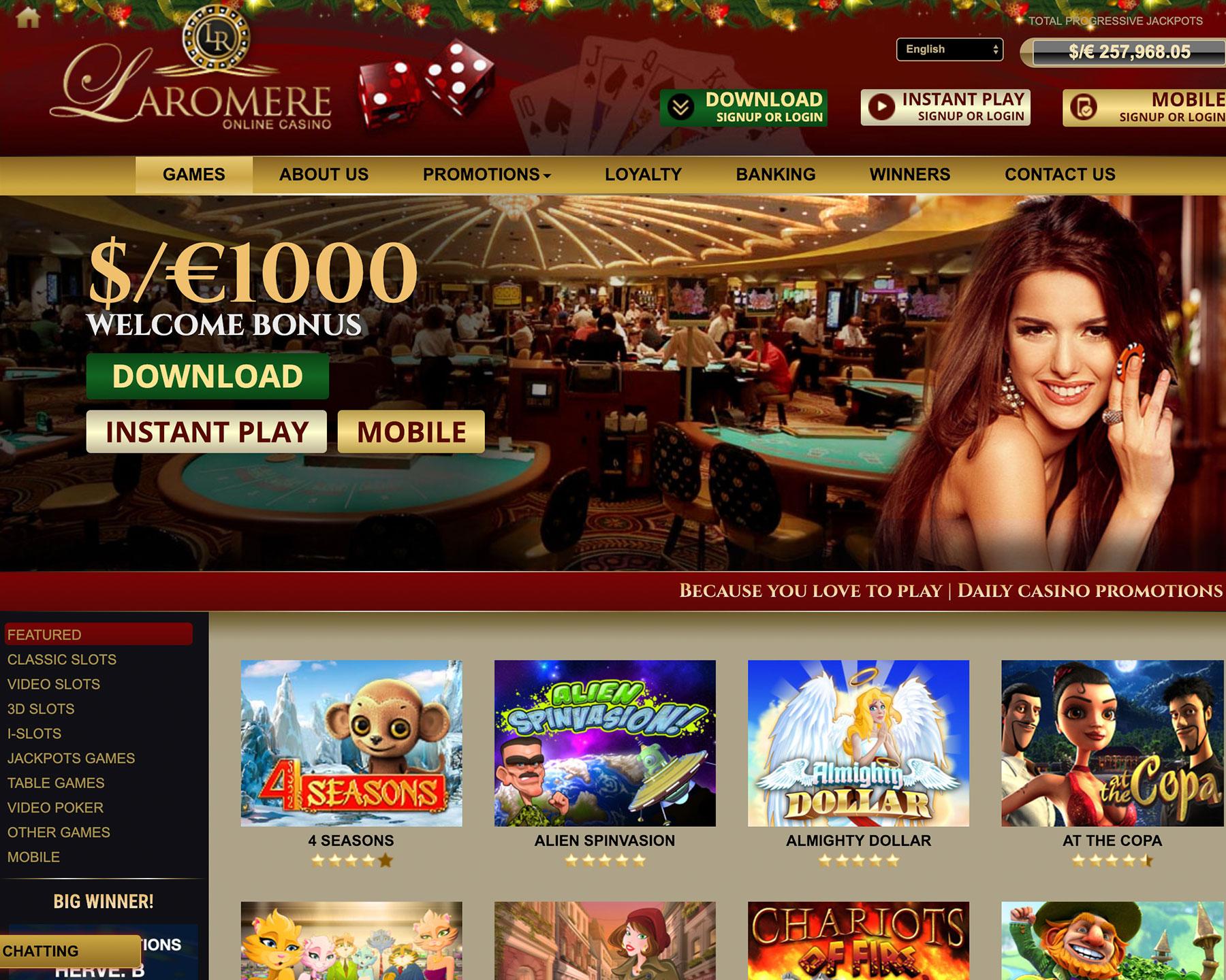 Tropica casino instant play