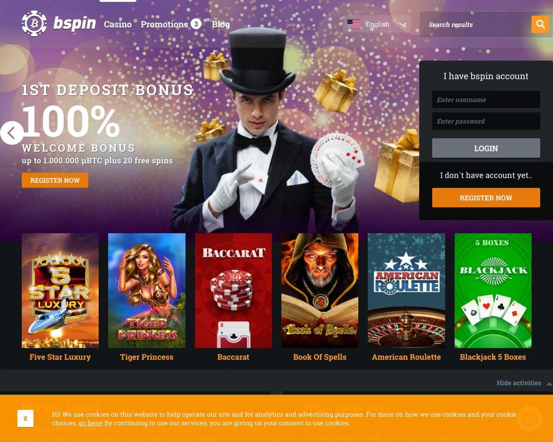 BSpin Casino