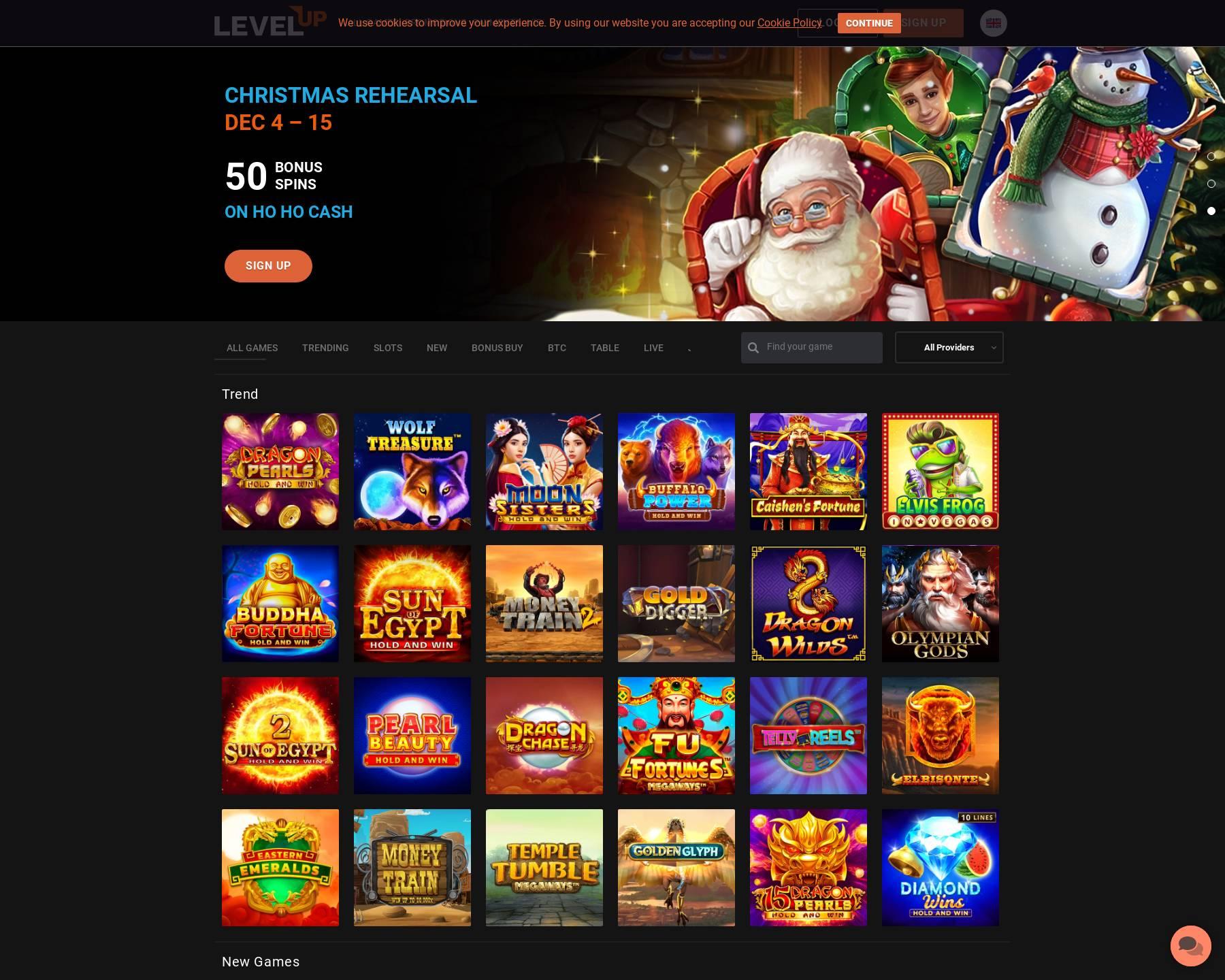 LevelUp Casino