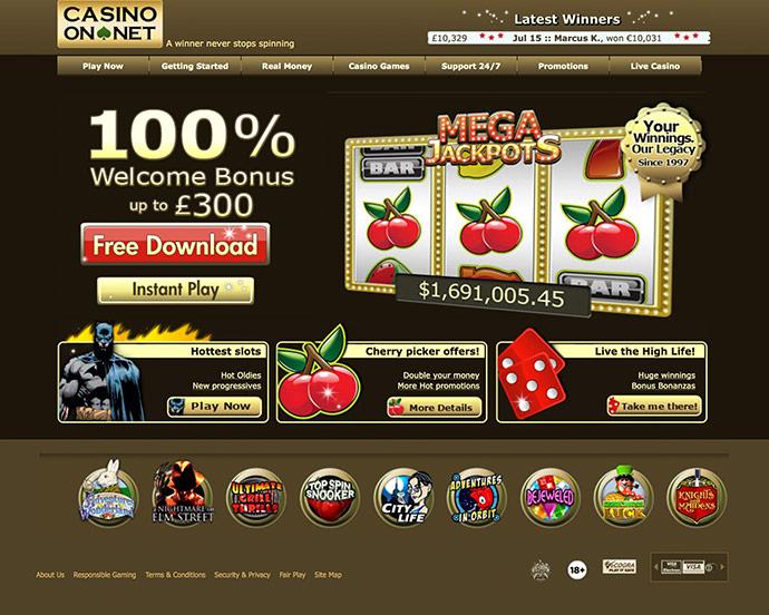 casino net отзывы