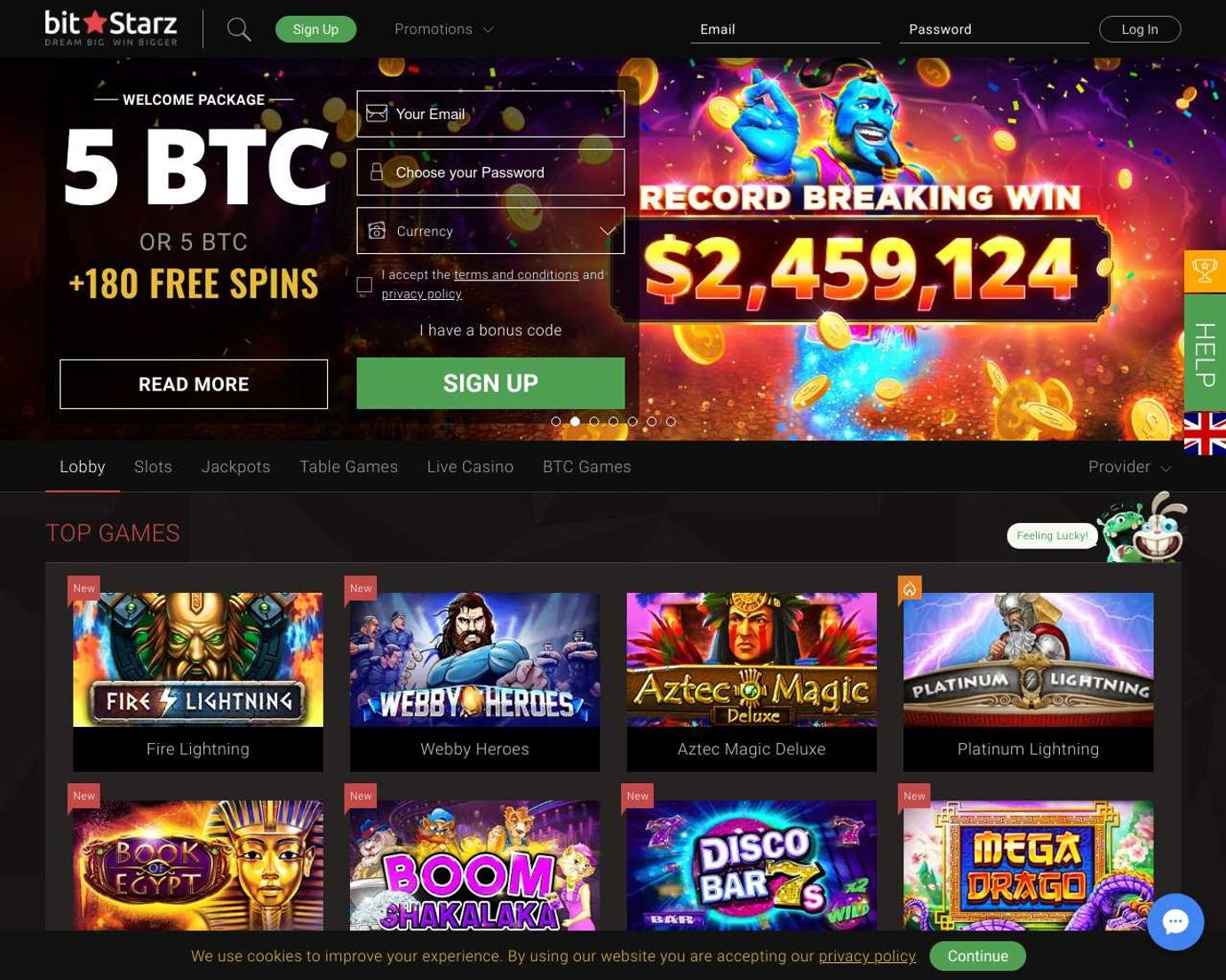 Топовое казино — Битстарз казино