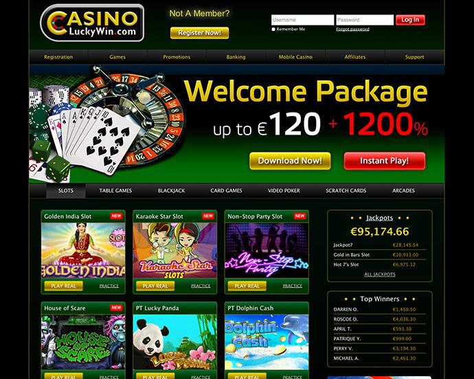 Bonus Code Casino Lucky Win