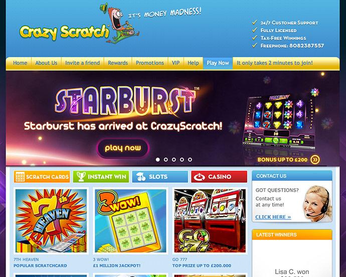 Crazy Scratch