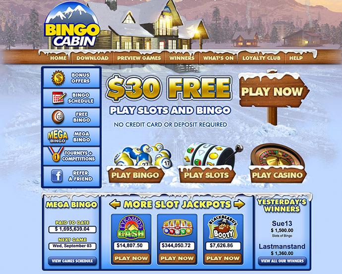 Bingo Cabin